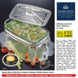 Oblong Casserole With 2 Warmer